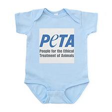 PETA Logo Infant Bodysuit