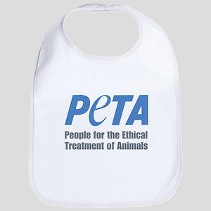 PETA Logo Bib
