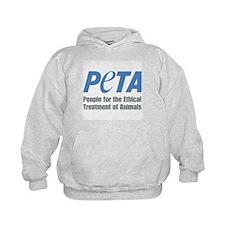 PETA Logo Kids Hoodie