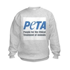 PETA Logo Kids Sweatshirt