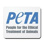 PETA Logo Mousepad