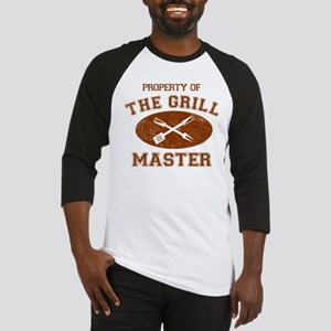 Property of Grill Master Baseball Jersey