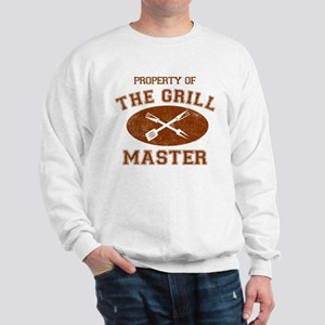 Property of Grill Master Sweatshirt