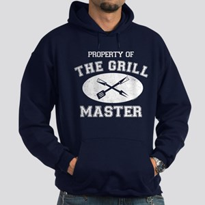 Property of Grill Master Hoodie (dark)