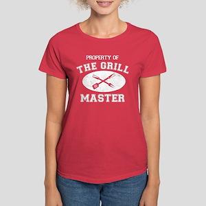 Property of Grill Master Women's Dark T-Shirt
