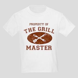 Property of Grill Master Kids Light T-Shirt