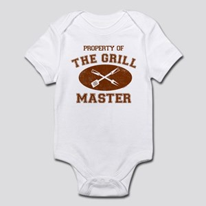 Property of Grill Master Infant Bodysuit