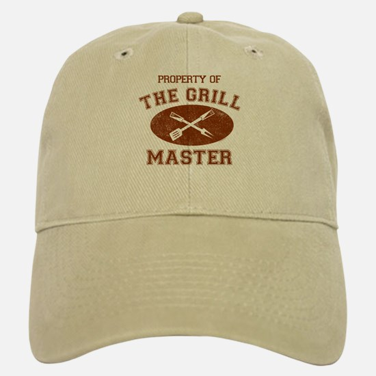 Property of Grill Master Baseball Baseball Cap