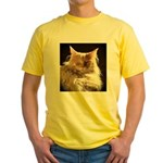 Maine Coon Yellow T-Shirt