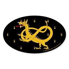 Dragon Watch Sticker (Oval 10 pk)