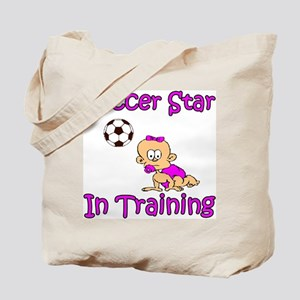 Soccer Star in Training Madison Tote Bag