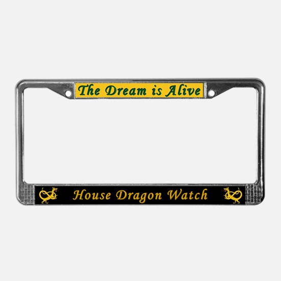 Dragon Watch License Plate Frame