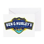 Ben & Hurley's Spring Water Greeting Cards (Pk of