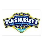 Ben & Hurley's Spring Water Postcards (Package of