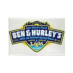Ben & Hurley's Spring Water Rectangle Magnet (10 p