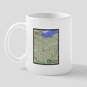 Ohio Stamp Mug