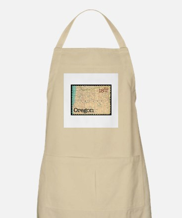 Oregon Stamp BBQ Apron
