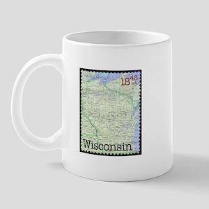 Wisconsin Stamp Mug