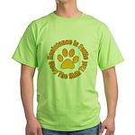 Shih Tzu Green T-Shirt