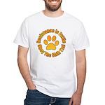 Shih Tzu White T-Shirt
