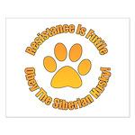 Siberian Husky Small Poster