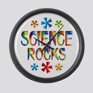 Science Large Wall Clock