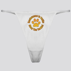 Yorkshire Terrier Classic Thong