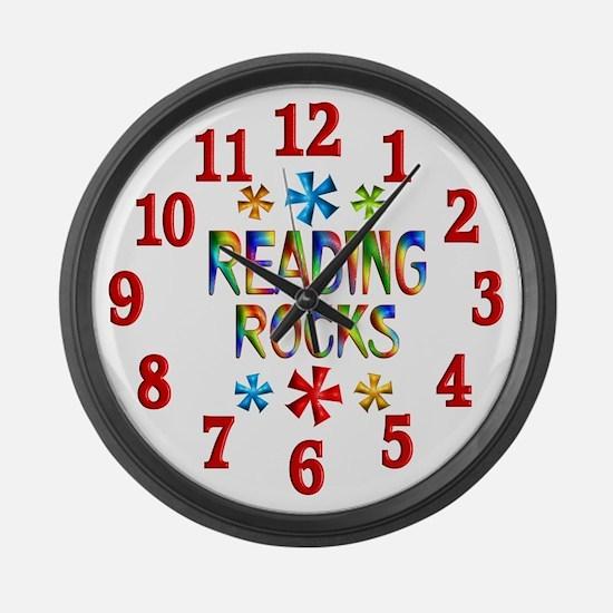 Reading Large Wall Clock