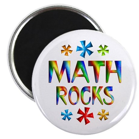 "Math 2.25"" Magnet (10 pack)"