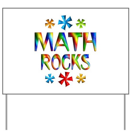 Math Yard Sign