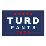 Turd Pants 2020 Sticker