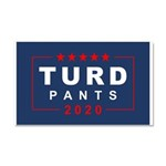 Turd Pants 2020 Car Magnet 20 X 12