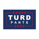 Turd Pants 2020 20x12 Wall Decal