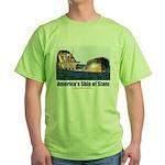 USS Obama Green T-Shirt
