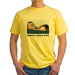 USS Obama Yellow T-Shirt
