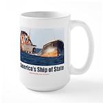 USS Obama Large Mug