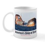 USS Obama Mug
