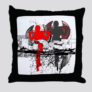 Lost Remembering Danielle Throw Pillow
