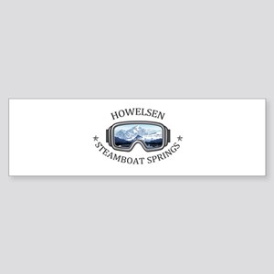 Howelsen Ski Area - Steamboat Spr Bumper Sticker