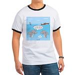 Shark Fast-Food Delivery Service Ringer T