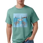 Shark Fast-Food Deliver Mens Comfort Colors® Shirt