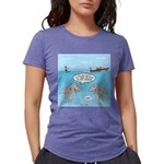 Shark Fast-Food Delivery Womens Tri-blend T-Shirt