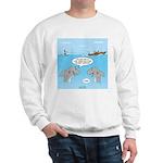 Shark Fast-Food Delivery Service Sweatshirt