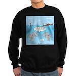 Shark Fast-Food Delivery Service Sweatshirt (dark)