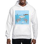 Shark Fast-Food Delivery Service Hooded Sweatshirt