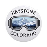 Keystone colorado Round Ornaments