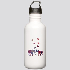 Elephants Stainless Water Bottle 1.0L