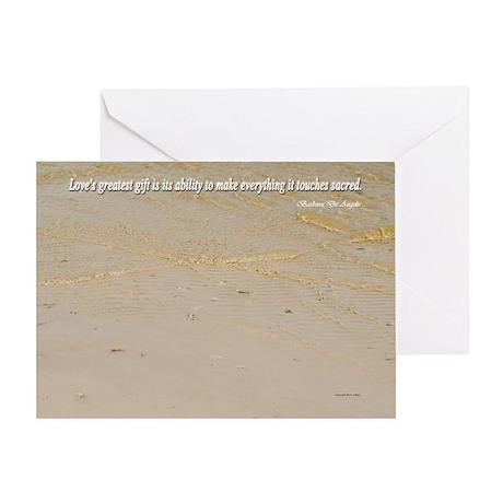 Love is Sacred: Greeting Card