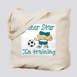 Soccer Star Isabella Tote Bag