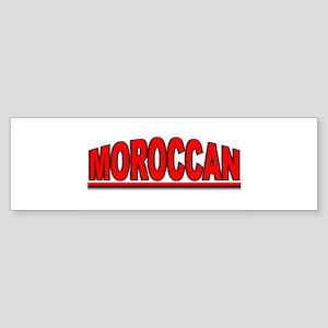 """""""Moroccan"""" Bumper Sticker"""